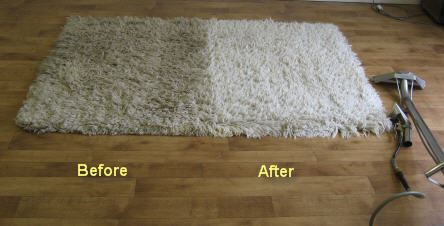 Before After Rugs Cleaning Company Bend of Islands