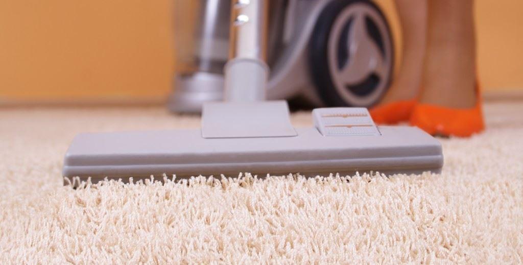 Vacuum cleaner in action