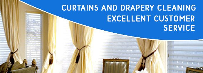Curtains and Drapery Cleaning in Service