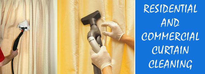 Residential and Commercial Curtain Cleaning in Service