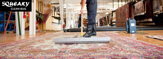 Rug and Carpet Dry Cleaning-Service