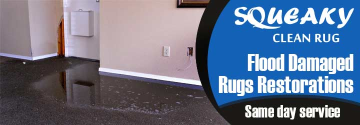 Flood Damage Rug Restoration-Service