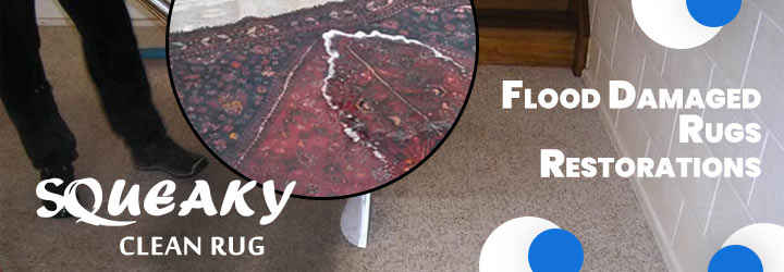 Flood Damaged Rugs Restorations Service