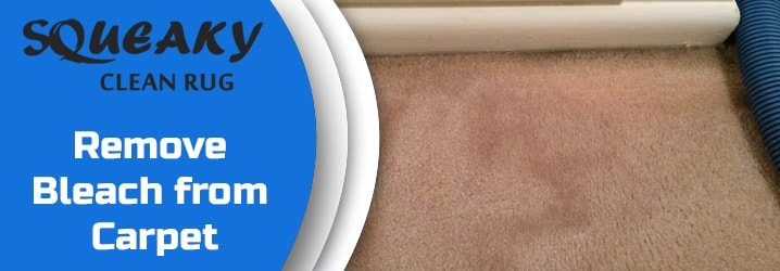 Remove Bleach from Carpet