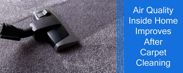 Air Quality Inside Home Improves After Carpet Cleaning