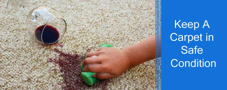 Keep a Carpet in Safe Condition
