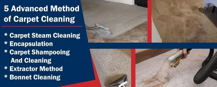5 Advanced Method of Carpet Cleaning