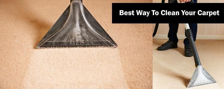 Best Way To Clean Your Carpet