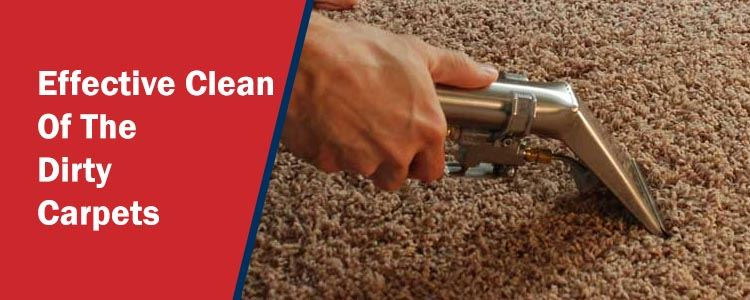 Effective Clean of The Dirty Carpets