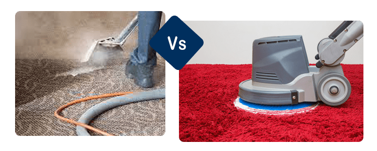 Steam Cleaning Carpet Vs Shampooing